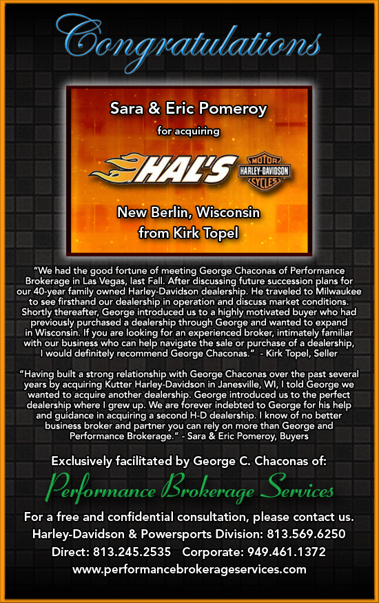 after 40 years, hal's harley-davidson in new berlin, wisconsin