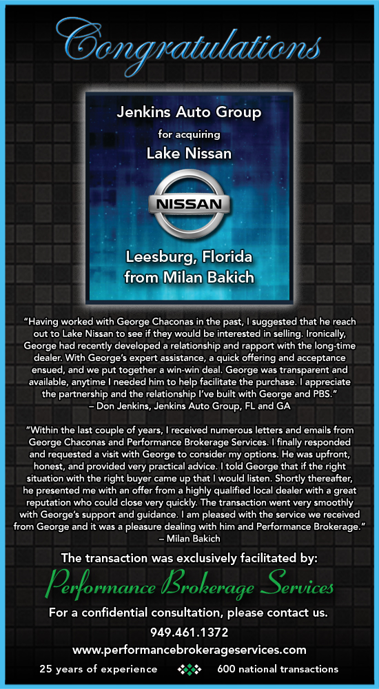Jenkins Nissan Leesburg – Jenkins auto group sells and services acura, hyundai, mazda, kia, nissan, volkswagen and honda vehicles in the greater central florida area, including ocala florida, leesburg, gainesville.