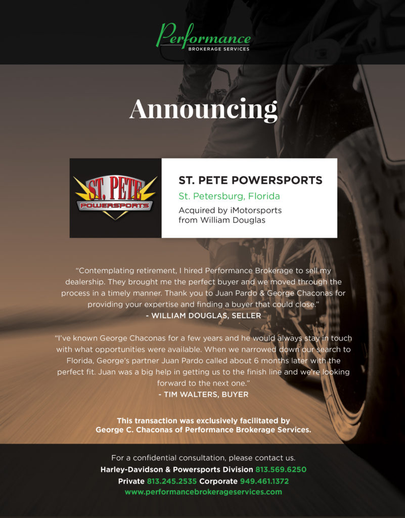 iMotorsports Acquires St. Pete Powersports in Florida ...