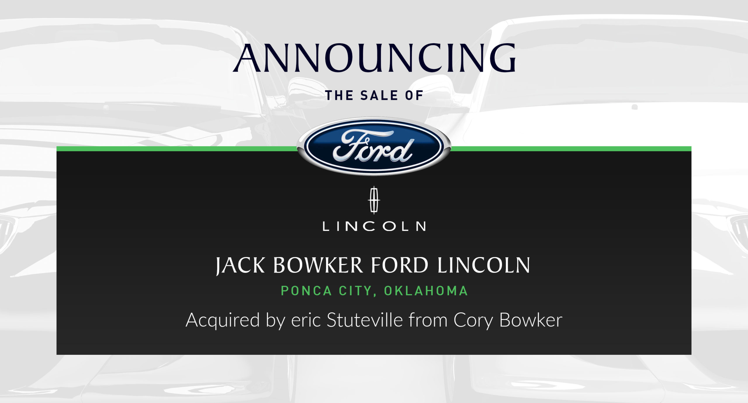 cory bowker sells jack bowker ford lincoln in oklahoma performance brokerage services cory bowker sells jack bowker ford